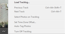 Map module GPX track log loading